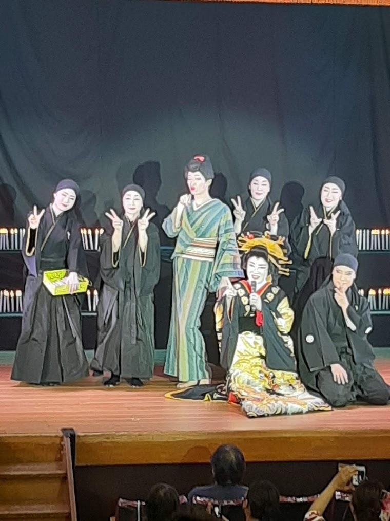 橘劇団舞踊ショー