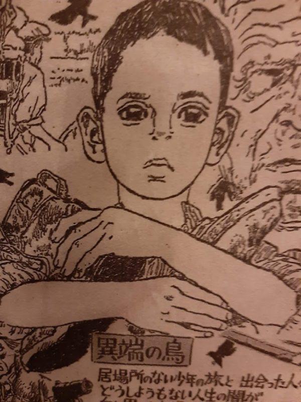 映画『異端の鳥』のイラスト