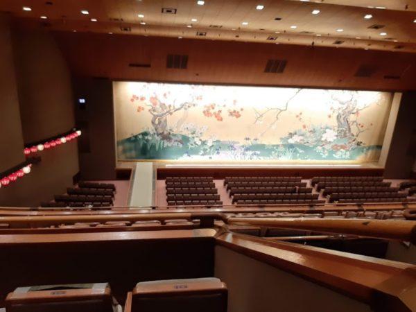 国立劇場客席から見た舞台