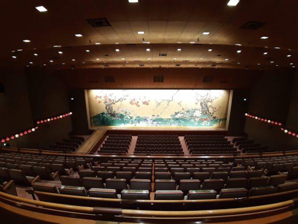 国立劇場大劇場の様子