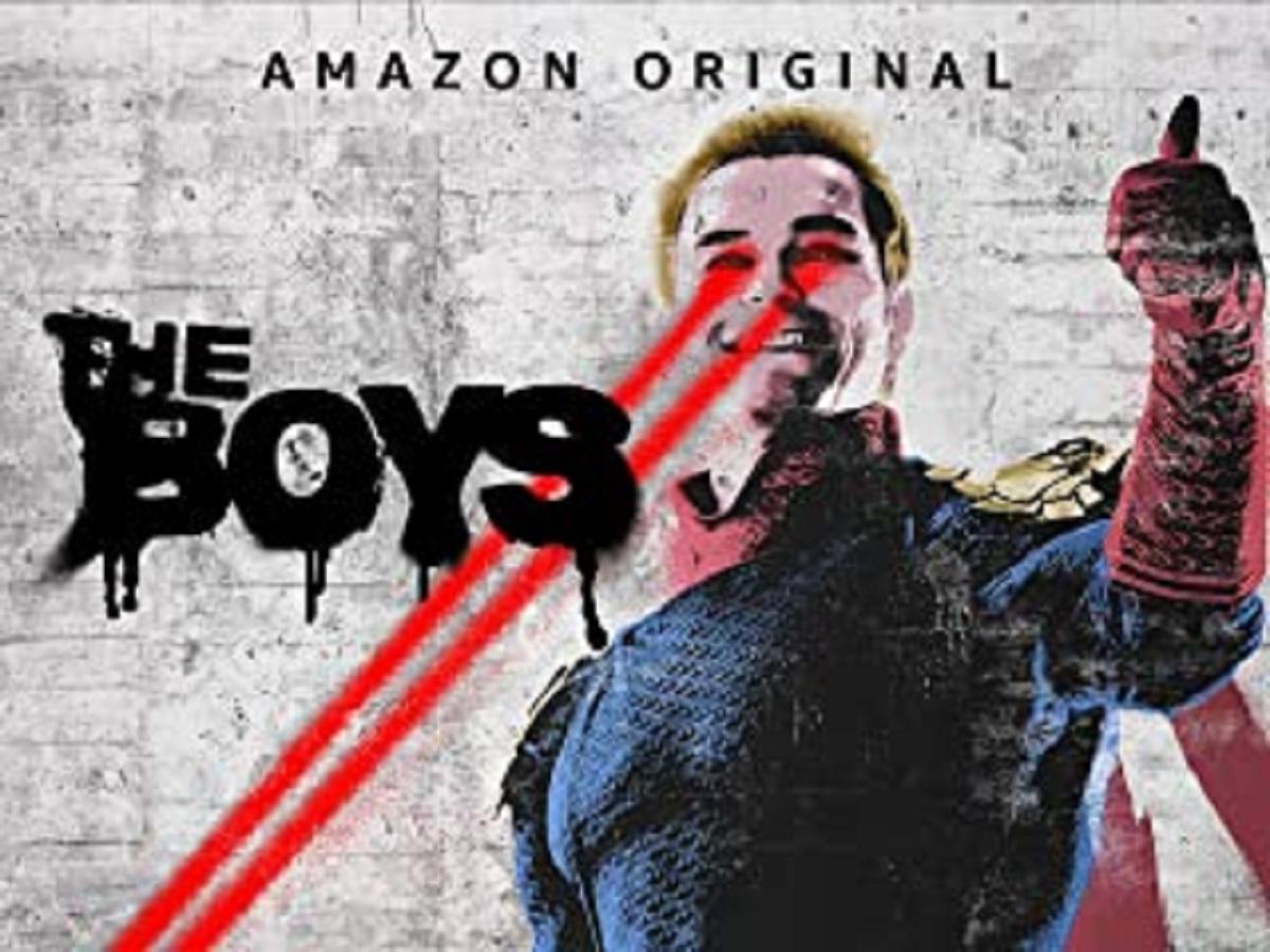 Amazonプライムビデオ『THE BOYS』ポスター
