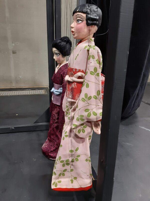 「結城座」の糸あやつり人形