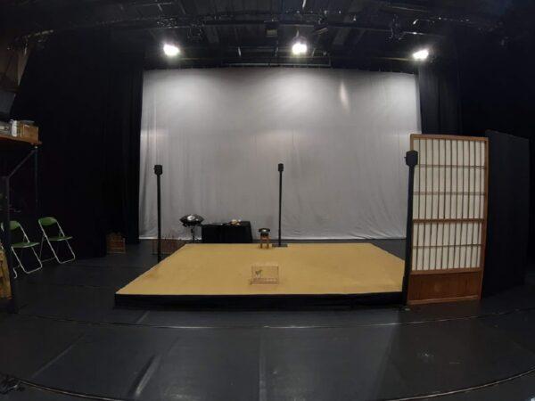 「結城座」の舞台