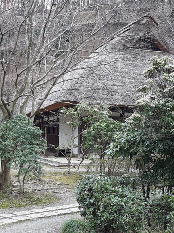 藁葺屋根の旧家屋
