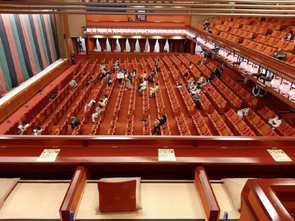 歌舞伎座場内の様子