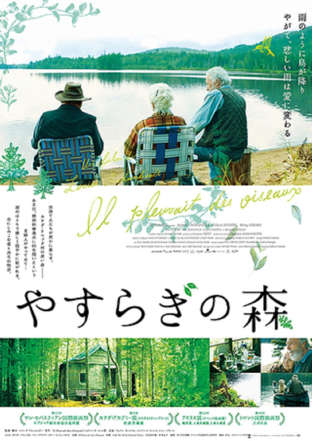映画『安らぎの森』ポスター